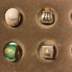 Jewelry - FINAL Markdown! NWOT! 925 sterling silver charms